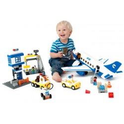 Klocki Samolot Pasażerski 155 elementów