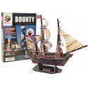 Puzzle 3D Statek Bounty 125 el.