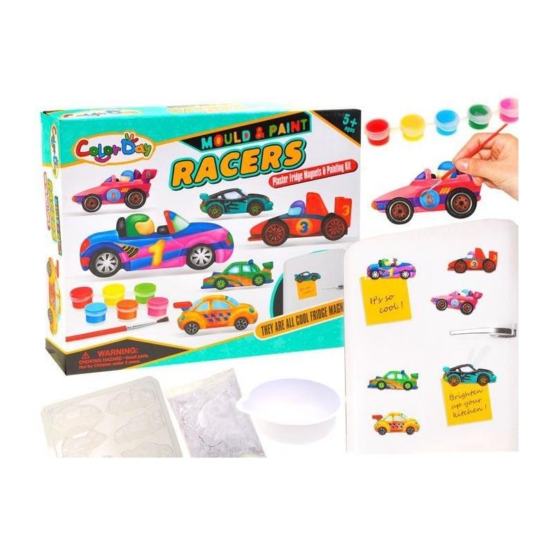 Kreatywny zestaw magnesy Zrób sam auta