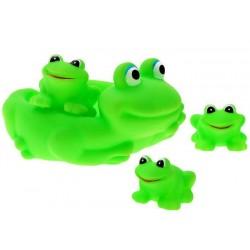Gumowe zielone żabki do kąpieli Żabka