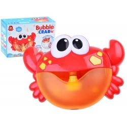 Bąbelkowy Krab do robienia piany zabawka do kąpieli