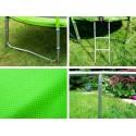 Trampolina ogrodowa SKYFLYER RING 2w1 427cm 14FT