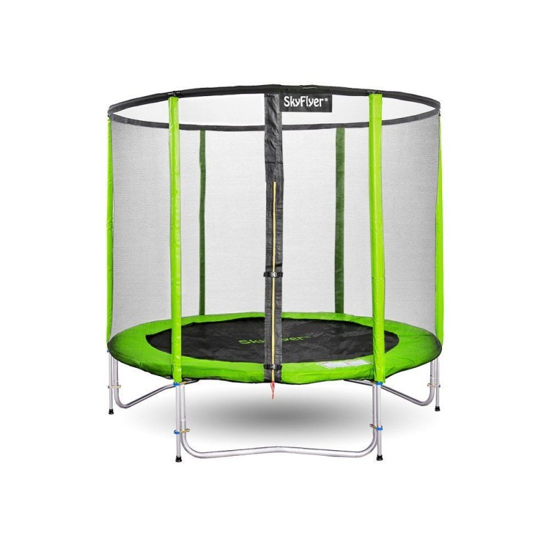 Trampolina ogrodowa SKYFLYER RING 2w1 180cm 6FT