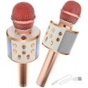 Mikrofon karaoke z głośnikiem