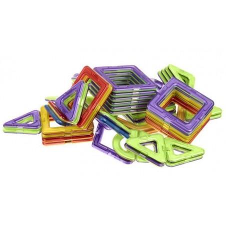 Klocki magnetyczne figury 99 elementów