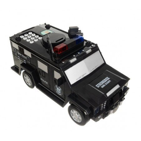 Skarbonka Samochód policyjny