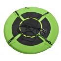 Huśtawka bocianie gniazdo 100cm zielono-czarna