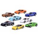 Zestaw autek 8 resoraków metalowe pojazdy
