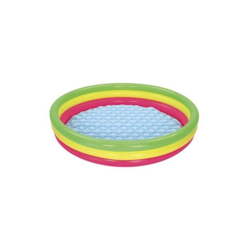 Dmuchany basen tęczowy 152cm Bestway 51103