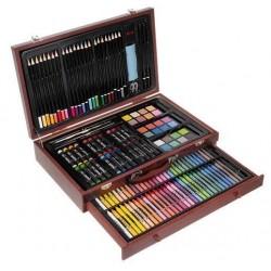 Zestaw do malowania w walizce 143 el.