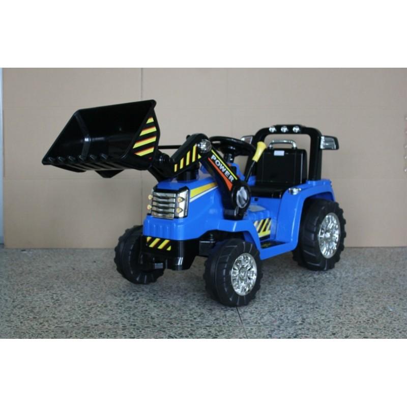Traktorek na akumulator - Koparka dla dzieci