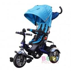 Rowerek BEMI-TRIKE 6w1 Rośnie z Dzieckiem Pompowane Koła Obrotowe Siedzisko