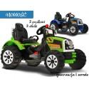 Duży Traktor na akumulator 2 silniki 2 biegi