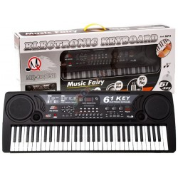 Duże Organy Keyboard MQ-809 USB MIKROFON