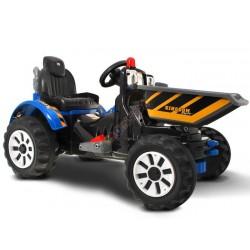 Duży Traktor WYWROTKA na akumulator 2 silniki