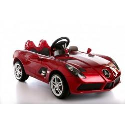 Pojazd LAKIEROWANY Mercedes SLR DMD158 Czerwony