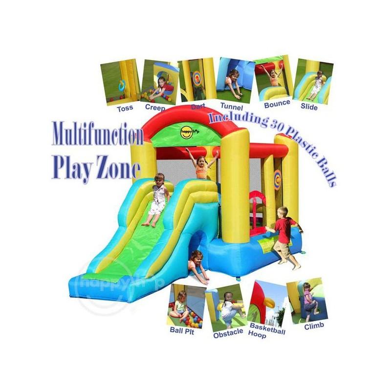 Dmuchaniec Centrum Zabaw Zjeżdżalnia Trampolina HappyHop Zamek Dmuchany