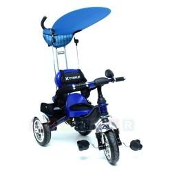 Rowerek trójkołowy XTrike KR01 - pompowane gumowe koła