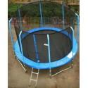 Trampolina ogrodowa 244cm 8ft (ring, drabinka, pokrowiec)