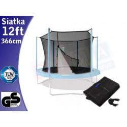 Siatka ochronna do trampoliny ogrodowej 365cm 12ft wewnętrzna
