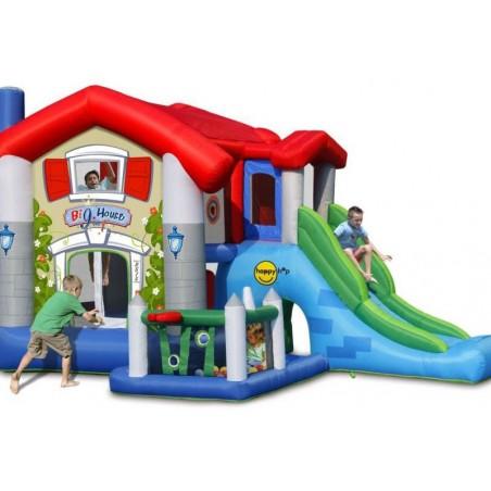 Zamek Dmuchany Wielki Dom HappyHop Trampolina Zjeżdżalnia Dmuchaniec