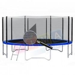 Siatka zewnętrzna do trampoliny 12ft 366cm 8 słupków