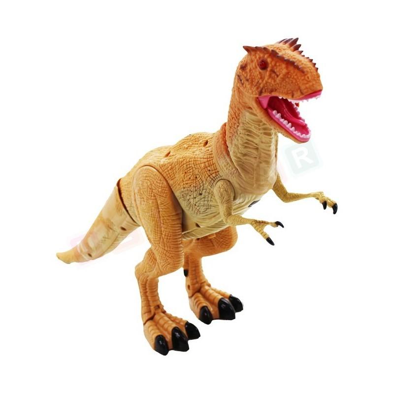 Duży Interaktywny Dinozaur Zdalnie Sterowany 45 cm