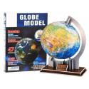 GLOBUS 3D Edukacyjne PRZESTRZENNE Puzzle