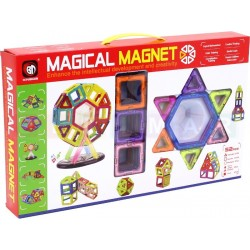 Klocki magnetyczne MAGICAL MAGNET 52 el