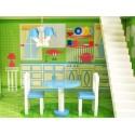 OLBRZYMI drewniany domek dla lalek WILLA