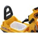 Jeździk: koparka z ruchomą łyżką