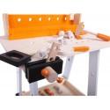 Drewniany warsztat ECOTOYS + Zestaw narzędzi 32 elementy