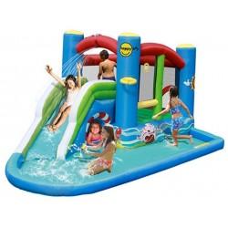 Plac zabaw Wodny Happyhop Zamek Dmuchany The Splash Pool Zjeżdżalnia Trampolina