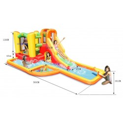 Dmuchaniec Wodny Happyhop Water Park Play Center Zamek Dmuchany Park Wodny