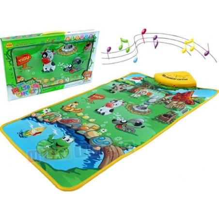 Muzyczna mata dla niemowląt - Wesoła farma