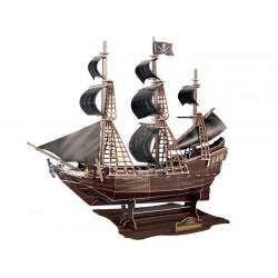 Statek Okręt CZARNA PERŁA puzzle 3D 104 el.