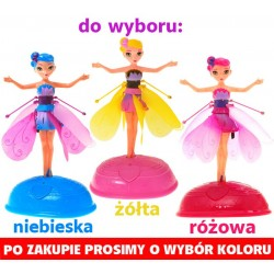 MAGICZNA LATAJĄCA WRÓŻKA KWIATOWA STEROWANA RĘKĄ - Flying Fairy