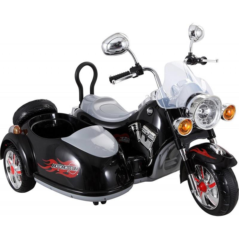 MOTOR CHOPPER Z KOSZEM 12V SUPER MOC/SX138