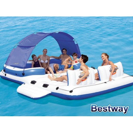 Bestway Materac dmuchany WYSPA 389x274cm 43105