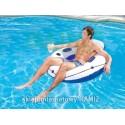 Duże Koło do pływania Luxury 119cm BESTWAY 43108
