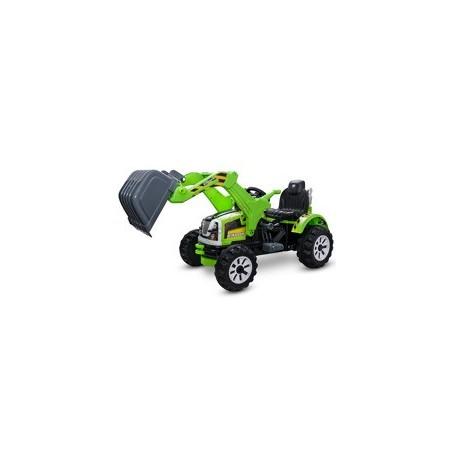 Duży Traktor Koparka 2 silniki 45W 2 biegi ruchoma łyżka