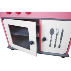 Drewniana Kuchnia Dla Dzieci ROMA - MEGA ZESTAW