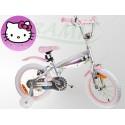 Rowerek dla Dziewczynki Hello Kitty 16cali Srebrny