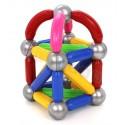 Klocki magnetyczne dla najmłodszych: 36 elemenetów