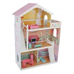 Drewniany Domek dla Lalek ELIZA 110 cm