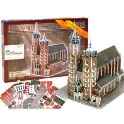 Puzzle 3D Bazylika Mariacka Kraków 94 el