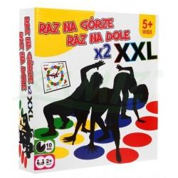 Gra Zręcznościowa Twister - Zestaw Powiększony XXL - Dwie Maty