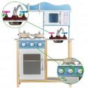 Drewniana Kuchnia dla Dzieci EcoToys 85 cm