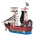 Drewniany Statek Piracki 50 cm
