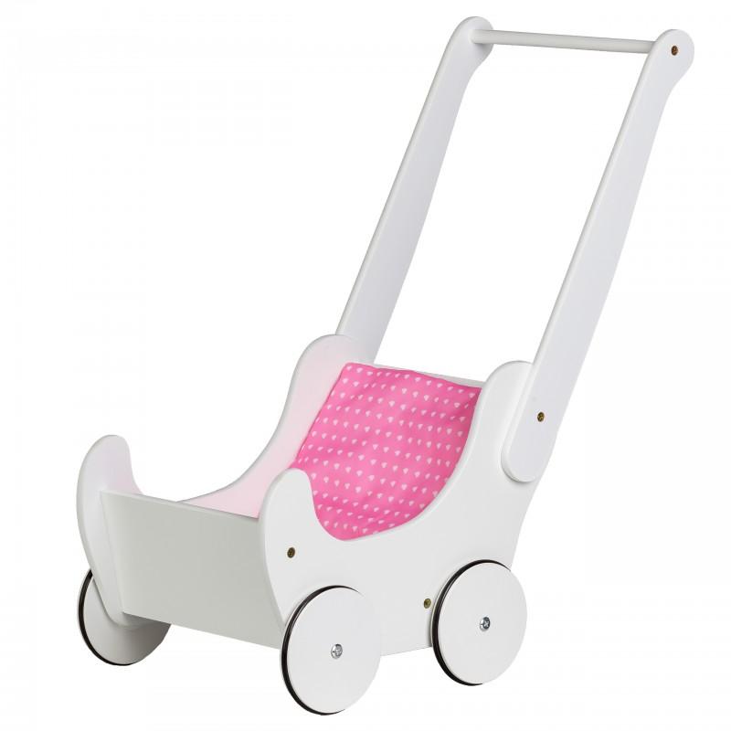 Wózek Drewniany dla Lalek Chodzik Pchacz Eco